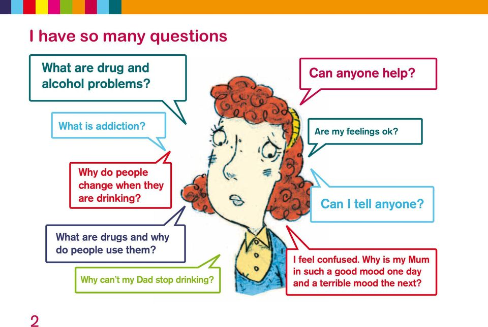 Can I tell anyone? What are drugs and why do people use them?