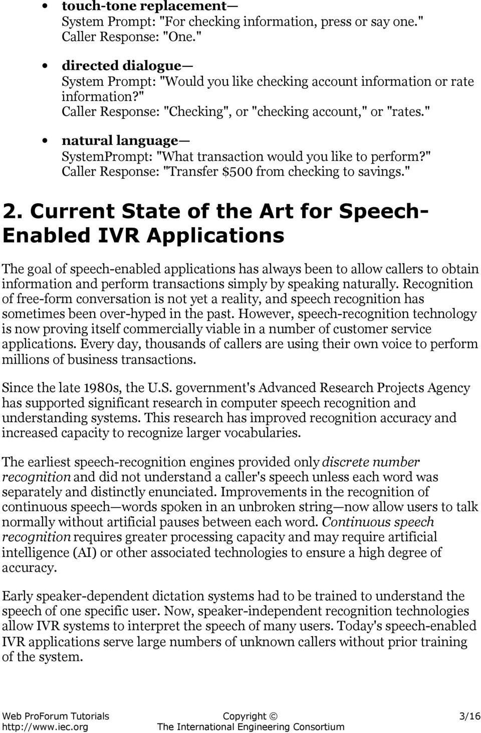 Speech-Enabled Interactive Voice Response Systems - PDF