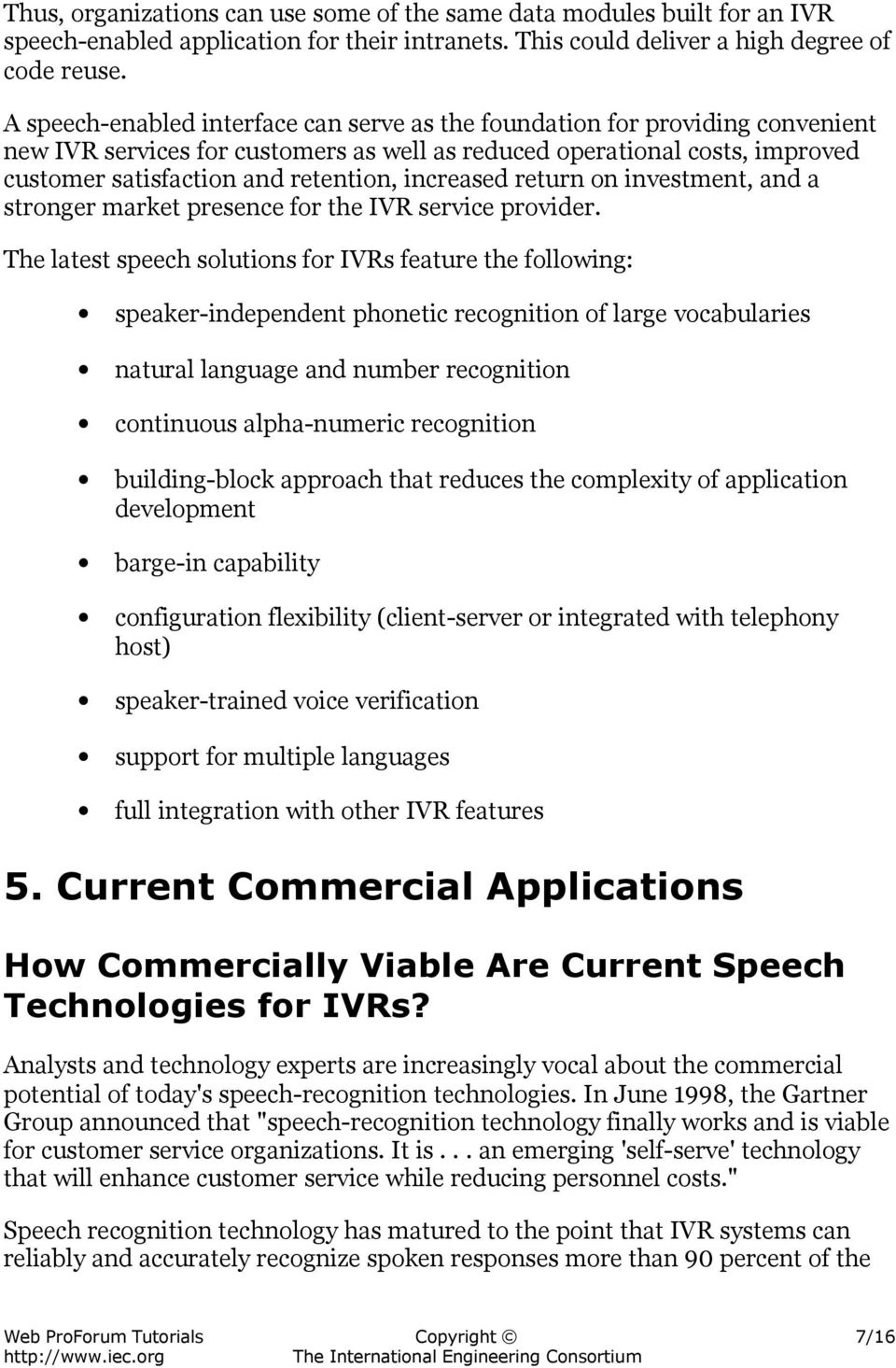 Speech-Enabled Interactive Voice Response Systems - PDF Free