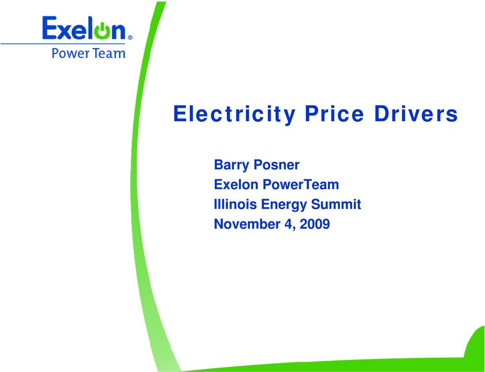 Exelon PowerTeam