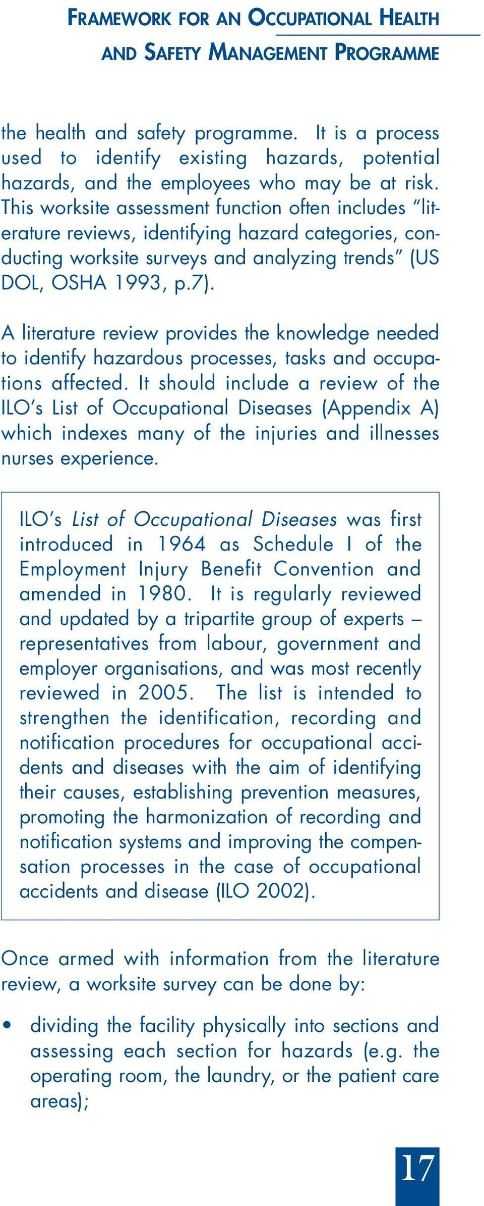 review of literature on employee welfare measures