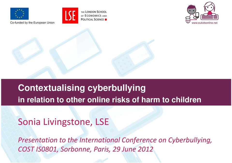 LSE Presentation to the International Conference on