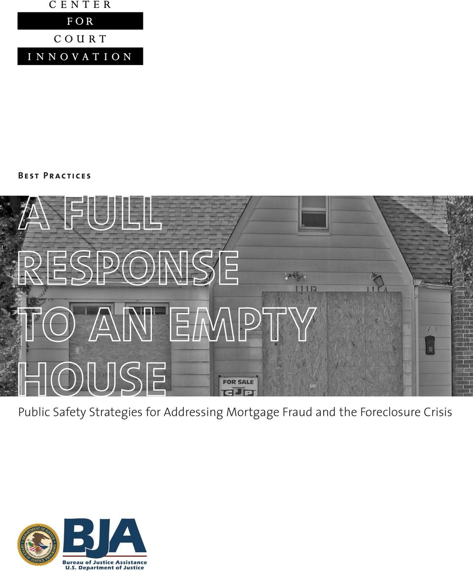 for Addressing Mortgage