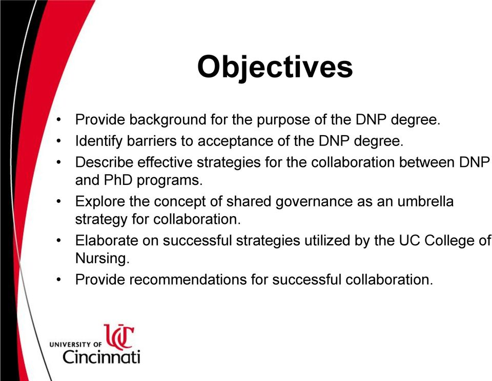 Describe effective strategies for the collaboration between DNP and PhD programs.