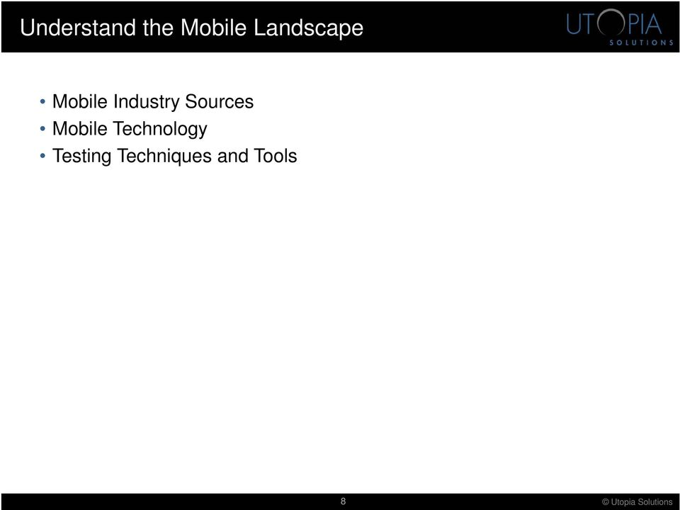 Sources Mobile Technology