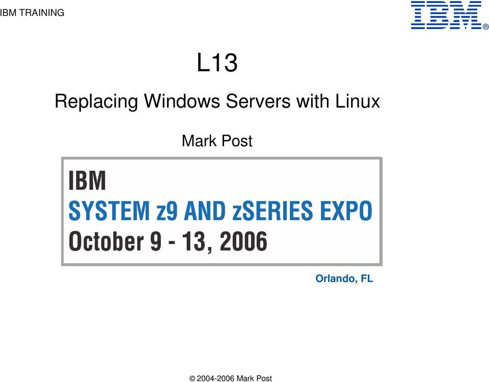 Servers with Linux Mark