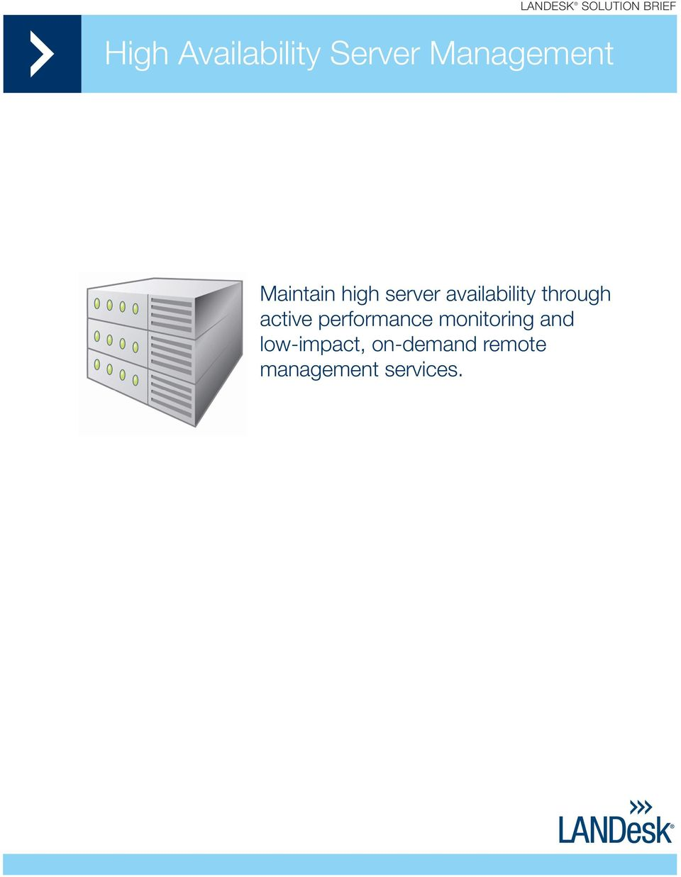 through active performance monitoring