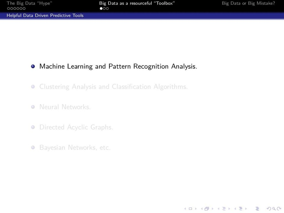 Clustering Analysis and Classification Algorithms.