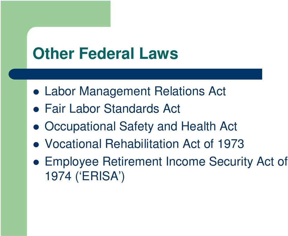 Health Act Vocational Rehabilitation Act of 1973