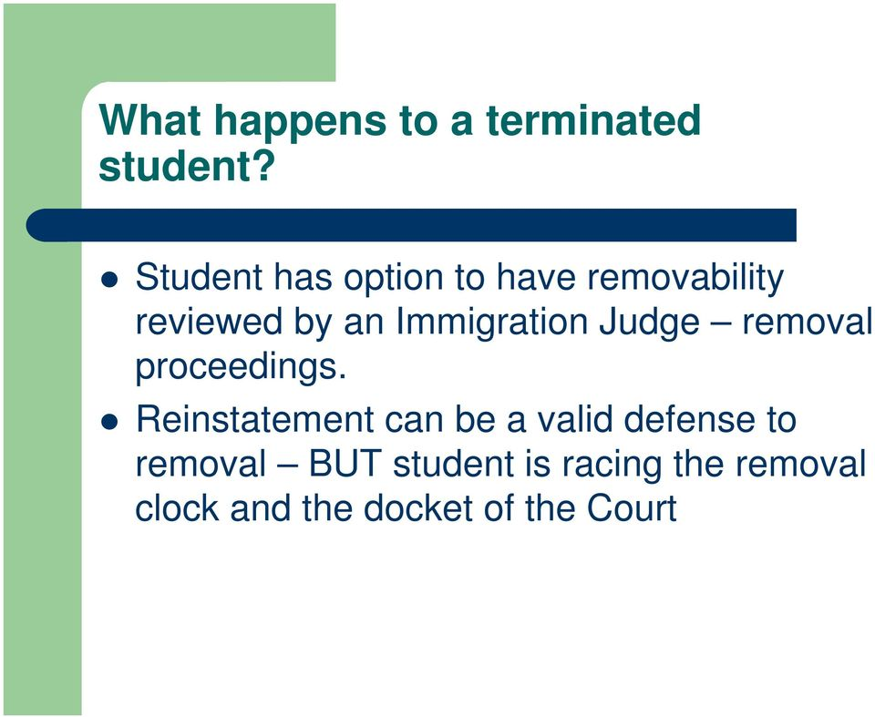 Immigration Judge removal proceedings.