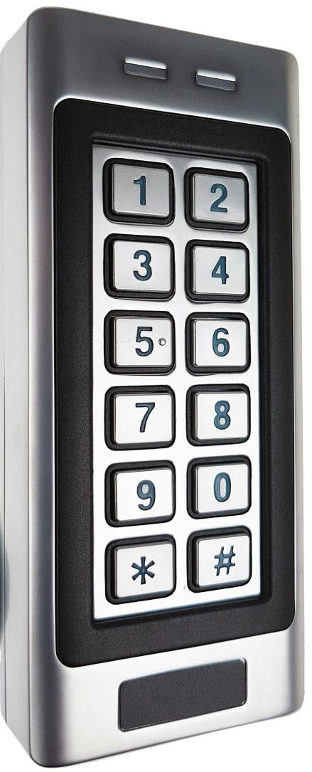 SK401-E. Stand-Alone Keypad & Proximity Card Reader. User ... on