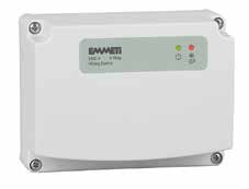 EWC-4 Hard-wired wiring centres 230v 4 way wiring centres specially designed for radiant heating and cooling applications Why you should choose Emmeti EWC-4 Wiring Centres The new generation EWC-4 is