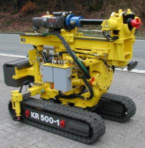 MICROPILE CONSTRUCTION: DRILLING Rotary only Drifter,