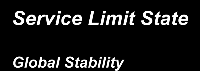 Service Limit State Global