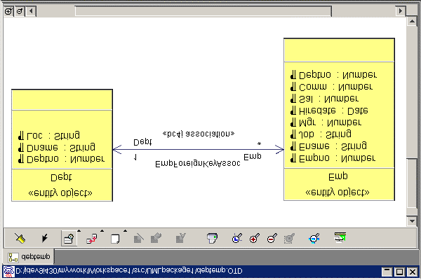 The JDeveloper modelers support standard UML usage, to which JDeveloperspecific features have been added. They also support XMI for exchange with other UML tools.