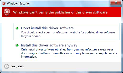 Installation Driver Installation 1. Please insert the included Driver CD into the CD-ROM Drive. 2. At the Windows desktop, click the Start button, then Run.