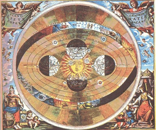 Heliocentric model Aristarchus, Copernicus (16 th century) Stationary Sun is in the center of the Universe.