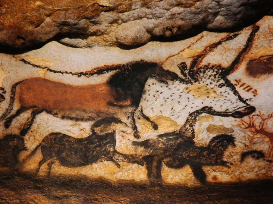 The Hall of the Bulls, Lascaux