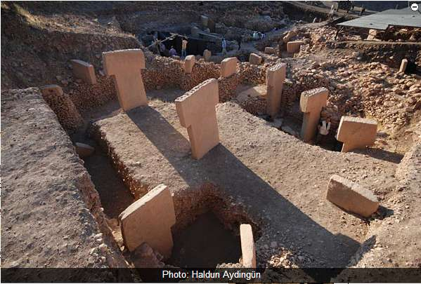 The earliest evidence of architecture comes from Göbekli Tepe in modern Turkey, ca. 10,000 BCE.
