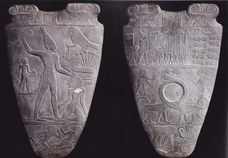 The Palette of Narmer, Predynastic