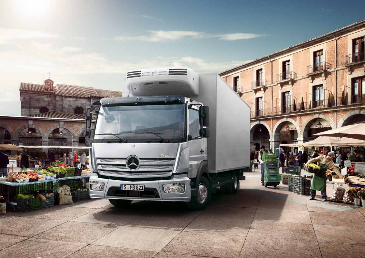 Charming ... Overall Costeffectiveness Further Still. Get Aboard And Experience  Mercedes Benz In The Distribution Sector. Mercedes Benz Distribution  Transportation 5