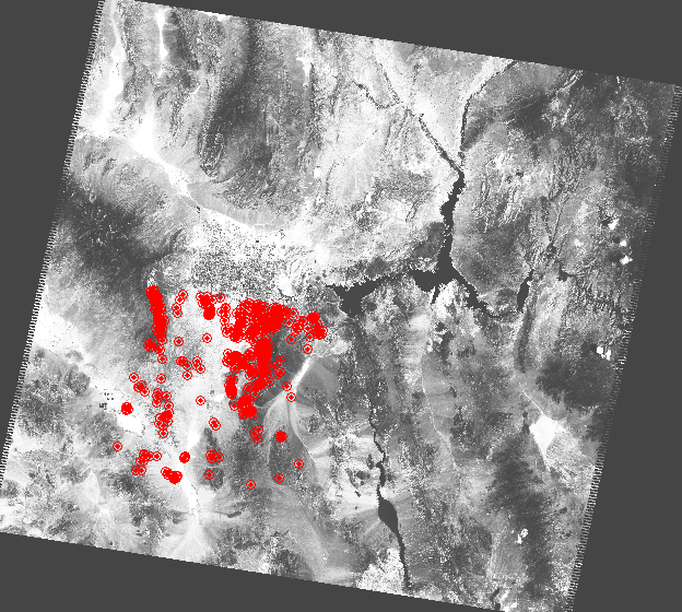 Feature-based matching and satellite images Image 1 4141 interest points