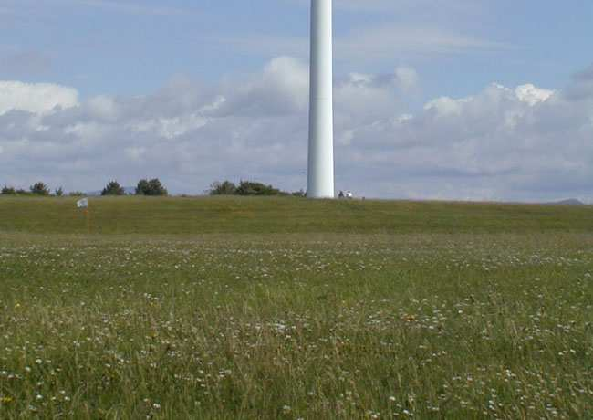 Wind Energy Energy obtained from moving air which moves blades on a windmill The blades are attached to a shaft which turns the