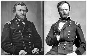 THE WAR ENDS (66) - Union Gen. Grant and Gen.