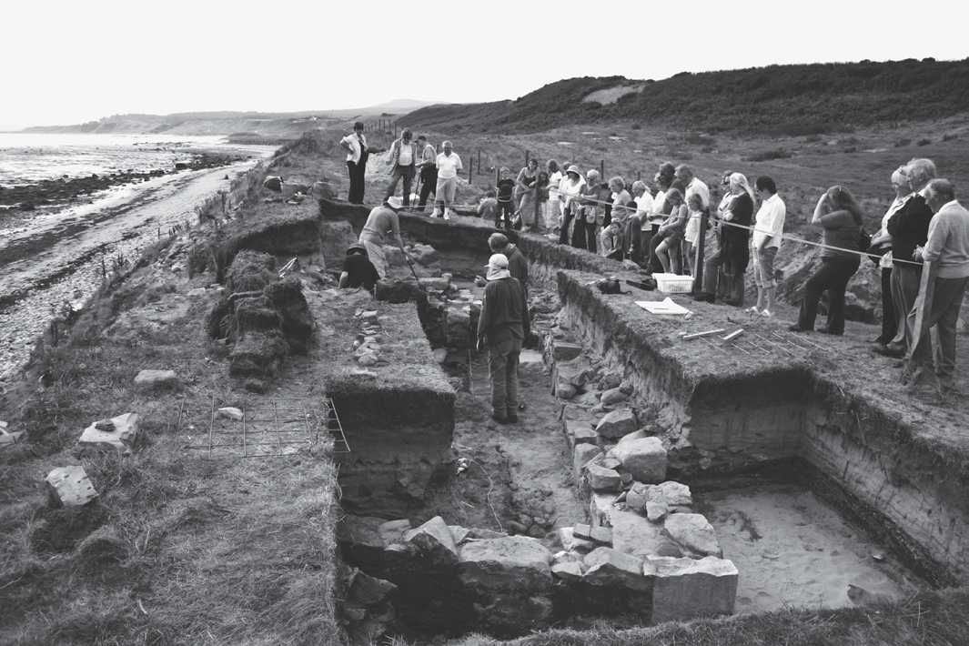 viking age byres archaeology