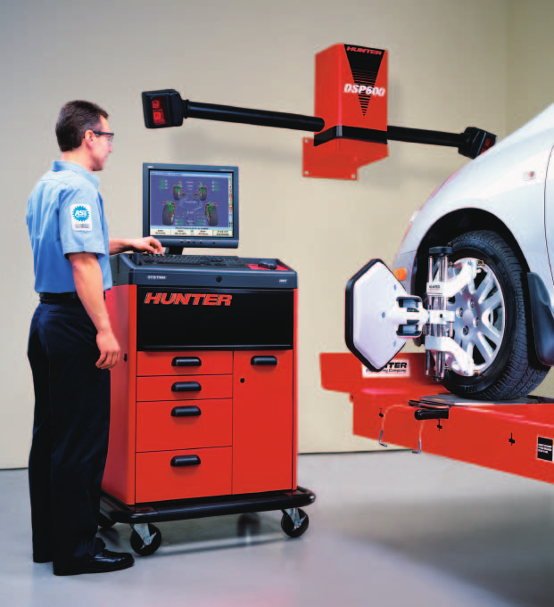 Hunter 811 Computerized Wheel Alignment System Form 4883T, 08/05 Supersedes  4883T,