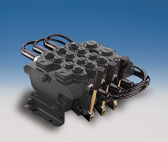 Hydraulic System Components Directional Valves Directional Valves - Internal spool directs fluid flow from the pump to a hydraulic actuator - 4-way(4 ports): Commonly called bi-directional