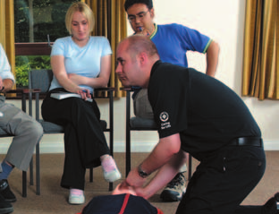 Up-to-date first aid books can provide useful information and instructions for what to do in an emergency and how to deal with minor injuries.