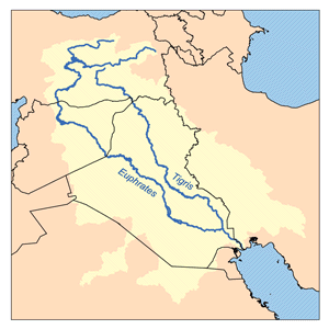 Akkadian, Babylonian and Assyrian empires.