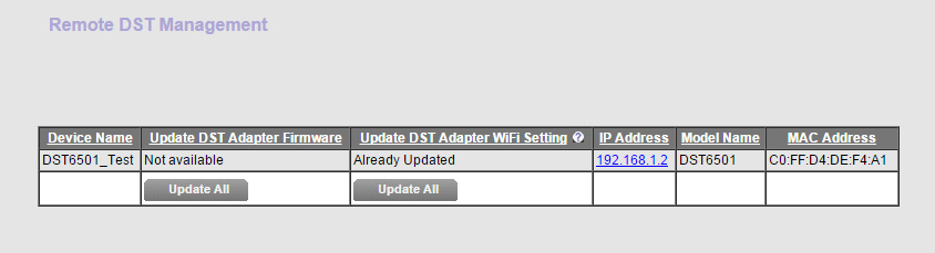 Add-on DST Adapter  Requires Nighthawk R7300 DST Router Model