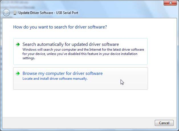 2-2-8 In the How do you want to search for driver software?