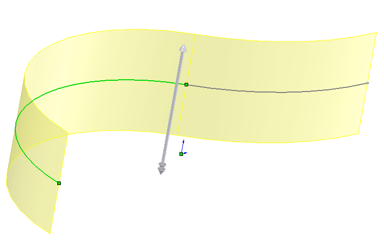 If the curvature is too small compared to the wall thickness the