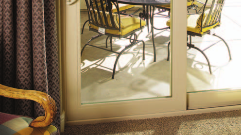 French-style Sliding Patio Door (4 1/2 rails) OX VINYL SWINGING FRENCH DOORS Enjoy all the style and elegance of