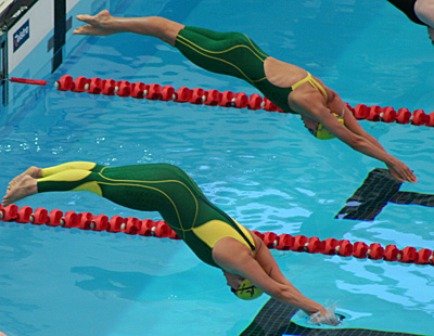 Flight Look down when pushing away Prepare to streamline Entry Streamline