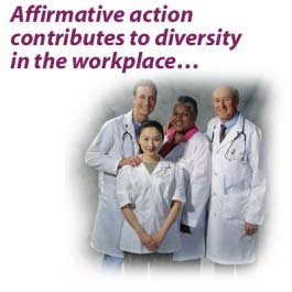 2012 Legal Compliance: Affirmative Action EEOC laws, rules, and regulations have led to the development of affirmative action policies and initiatives. IMAGE: 2012.