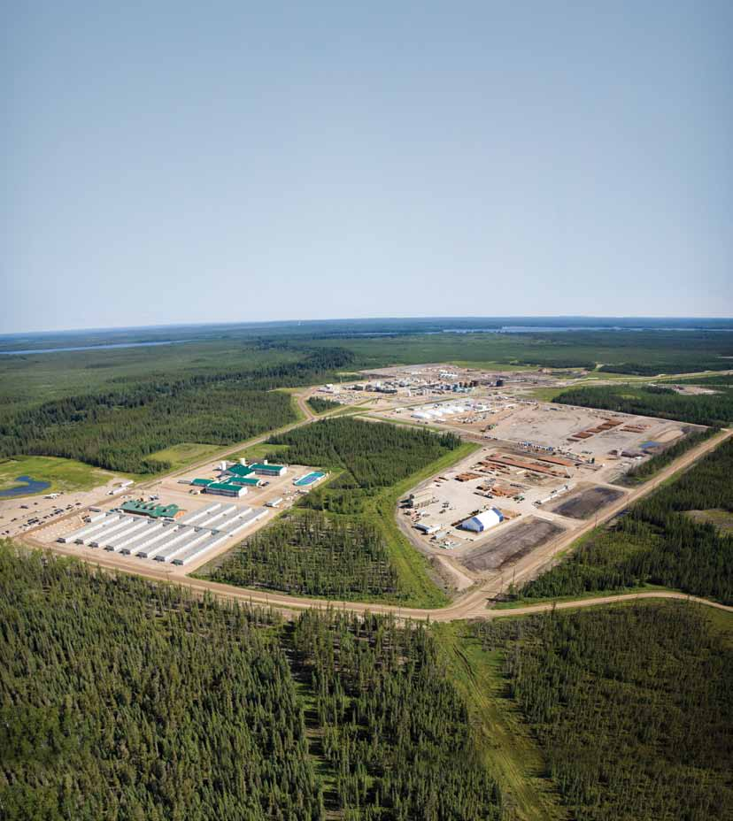 Our two industry-leading oil sands projects By no means are we perfect. There are a lot of areas where we can improve, and we re going to continue to try to reduce our impact.