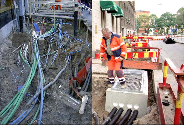 Passive infrastructure Lease of fiber optic connection (dark fiber) Network open to all players on equal terms No technology
