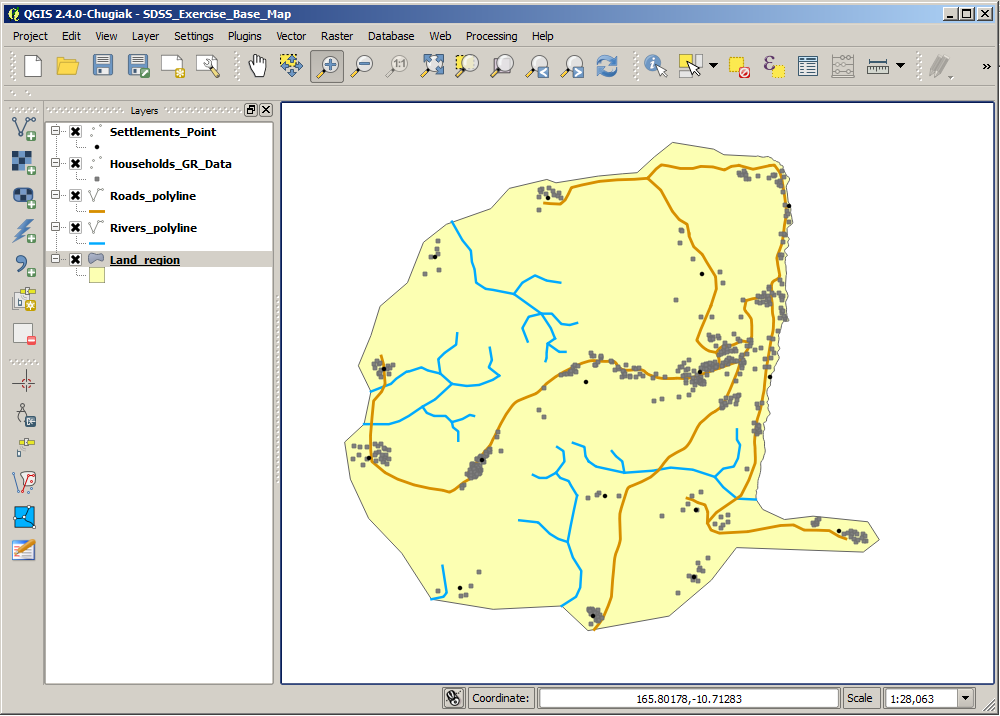 SDSS Practical 1: Producing an interactive map in QGIS - PDF