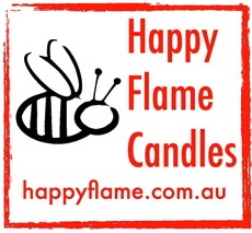 Why beeswax candles? Why Happy Flame Beeswax Candles? Safe: Happy Flame candles are 100% beeswax... no oils, which also means NO palm oil, no artificial or added fragrances.