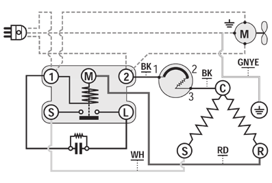 Starter Overload Relay Wiring Diagrams