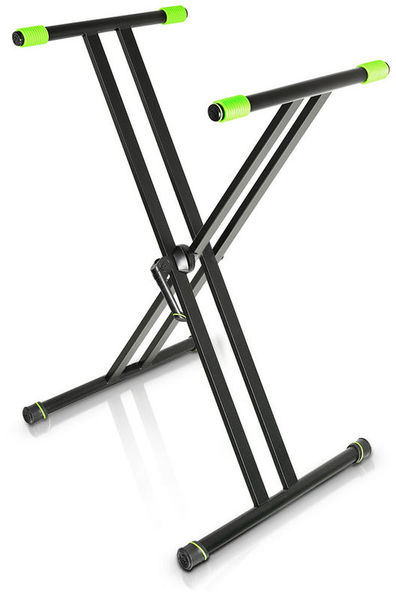 Gravity KSX 1 Keyboard Stand, X-Form single Keyboard stand, powdered Coated steel, max.