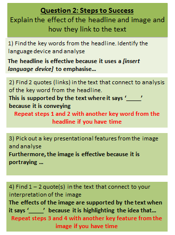 Question 2 = Source 2 Highlight the headline, image, and linking