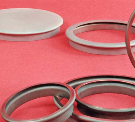 according to final flange size; thickness ranges from 0.020 to 0.080 inch.