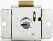 2 keys per lock 600-S14 *Specify master key group number 22mm Projection for 22mm Thick Timber 4 6.