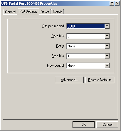 In the Toolbar COM Port number you can select you preferred COM-Port number.