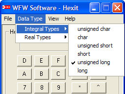 byte to hex converter